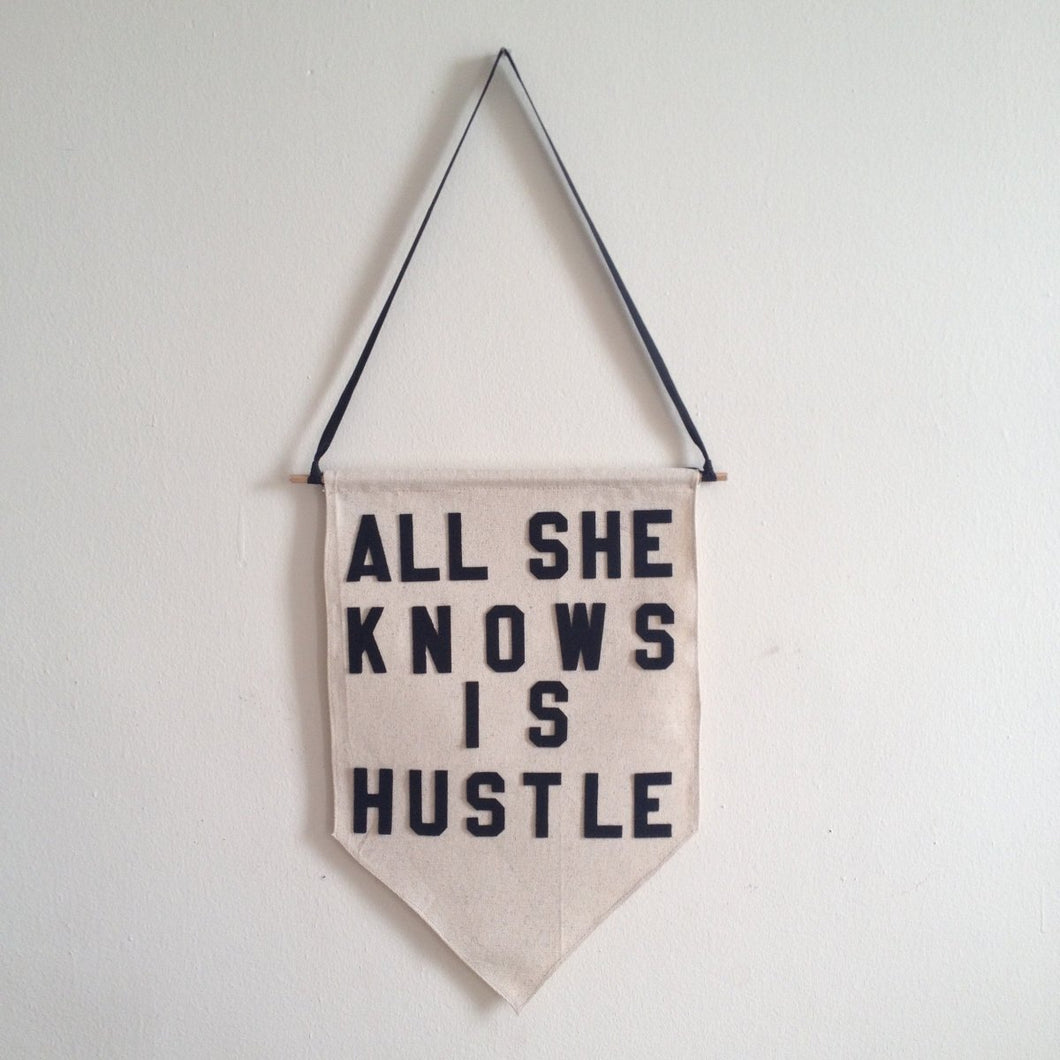 all she knows is hustle by rayo & honey