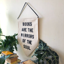 Load image into Gallery viewer, books are the mirrors of the soul by rayo & honey