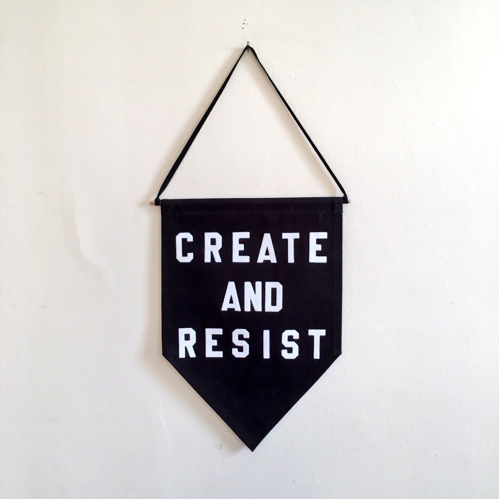 create and resist by rayo & honey