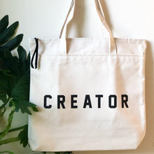 Load image into Gallery viewer, creator tote by rayo & honey