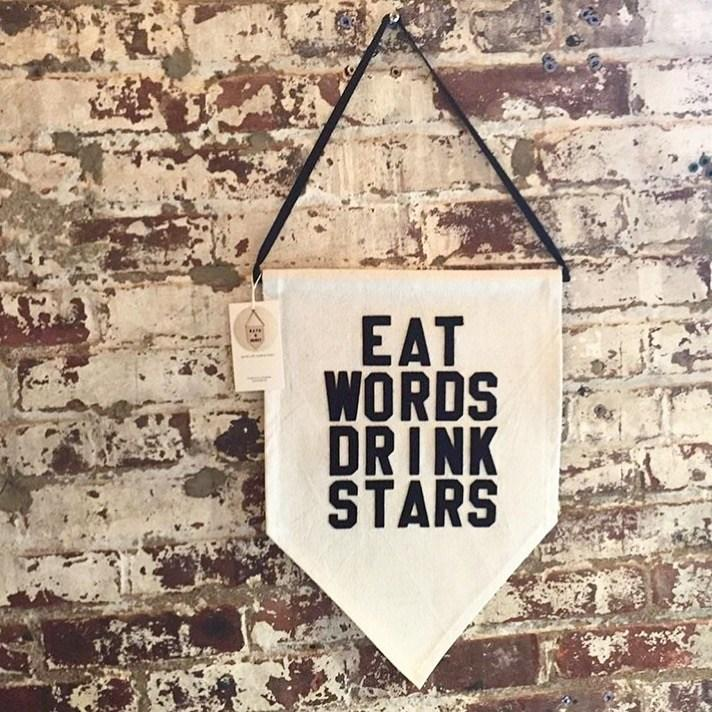 eat words drink stars by rayo & honey