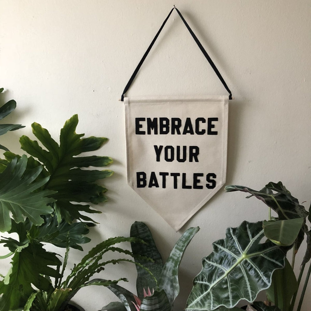 embrace your battles by rayo & honey