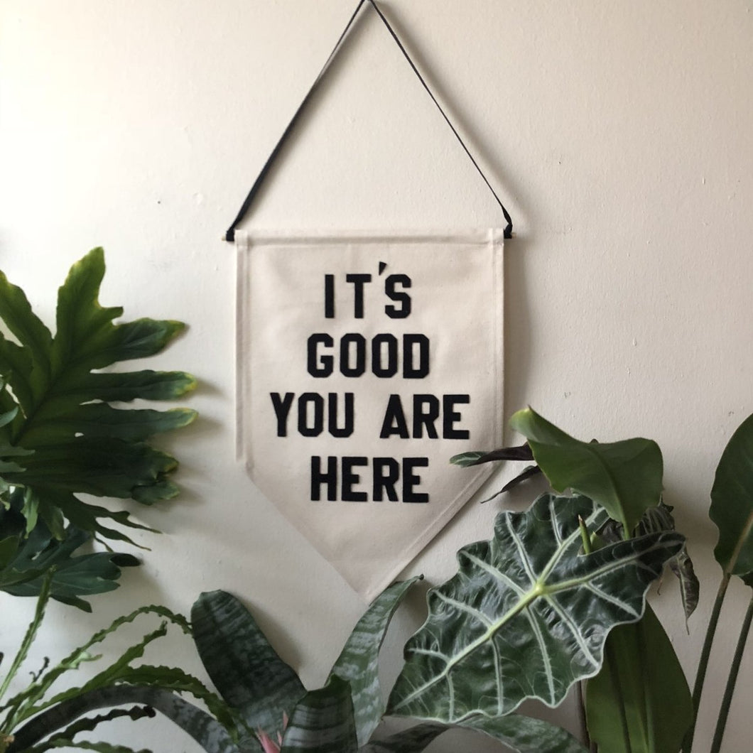 it's good you are here by rayo & honey