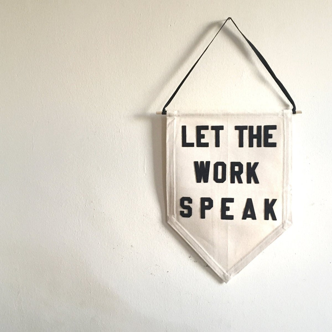let the work speak by rayo & honey