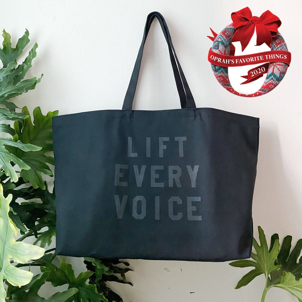 Lift Every Voice Tote by rayo & honey