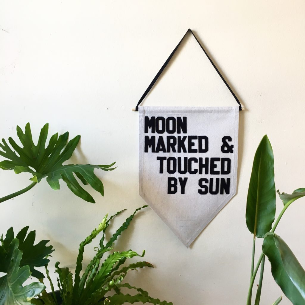 moon marked & touched by sun by rayo & honey