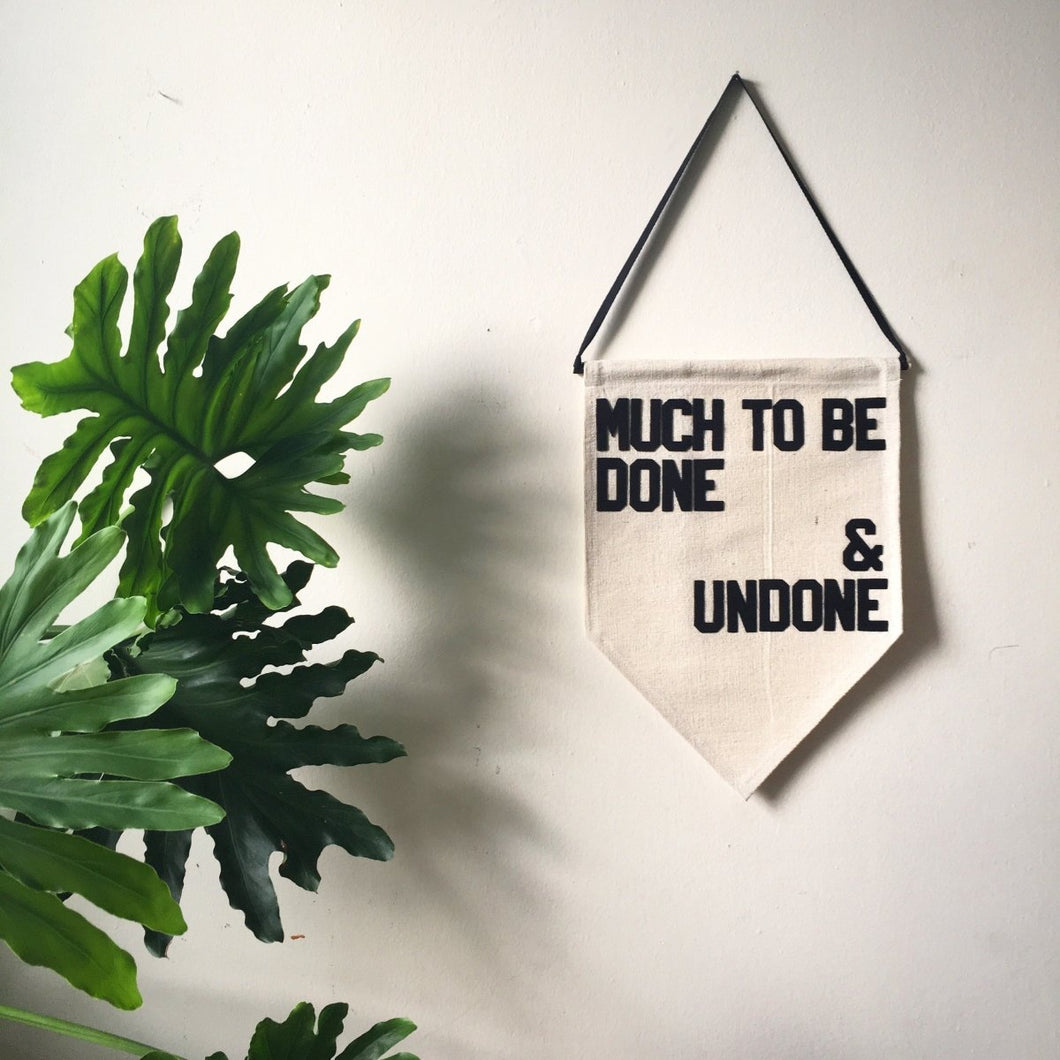 much to be done & undone by rayo & honey