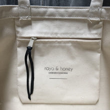 Load image into Gallery viewer, part poet part wolf tote by rayo & honey