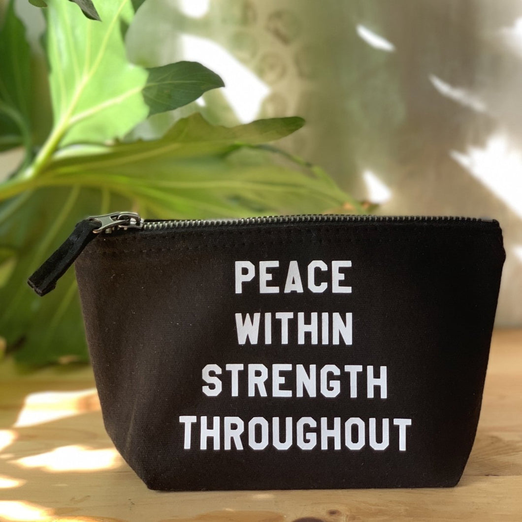 peace within strength throughout by rayo & honey