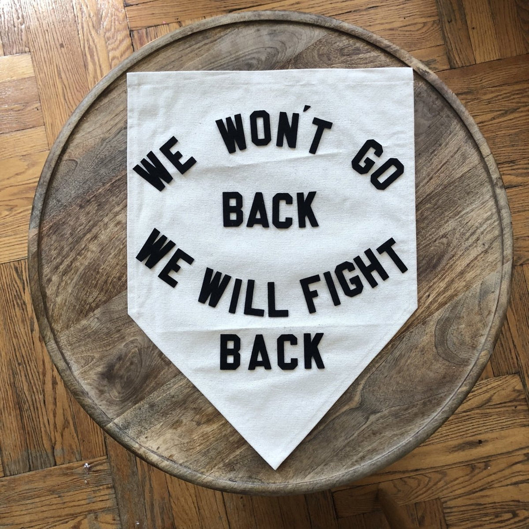 we won't go back we will fight back by rayo & honey