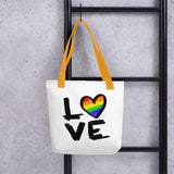 Love is Love | LGBTQ+ | Gay pride | Tote bag