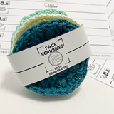 PRINTABLE Facial Scrubbies Wraps | Downloadable PDF | handmade reusable rounds | gift tags labels wraps market display DIY Packaging