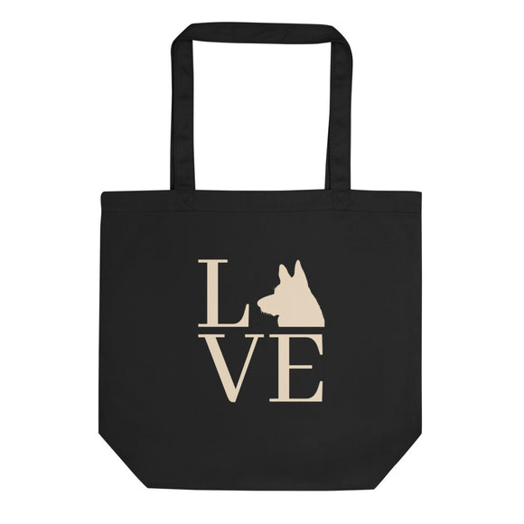 German Shepherd love | Eco Tote Bag