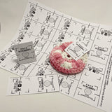 PRINTABLE Facial Scrubbies Tags| Downloadable PDF | handmade reusable rounds | gift tags labels wraps market display DIY Packaging