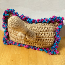 Load image into Gallery viewer, Crochet Willy Pillow