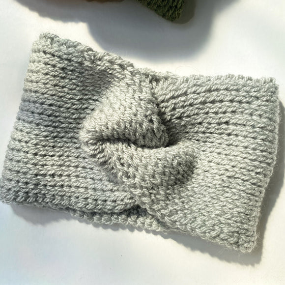 Twist Crochet Ear Warmer