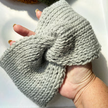 Load image into Gallery viewer, Twist Crochet Ear Warmer