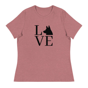 German Shepherd love | Women's Relaxed T-Shirt