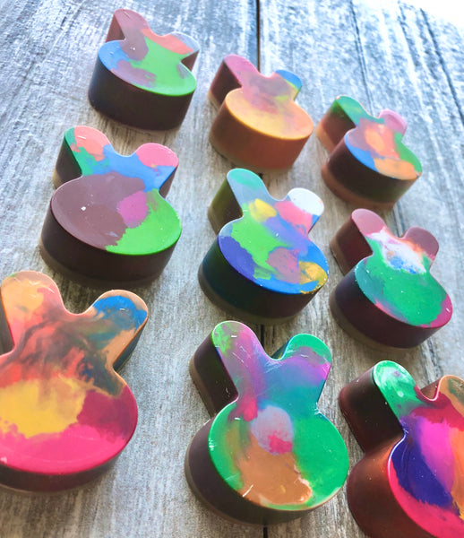 Rainbow Bunny Crayons in A Gift Box
