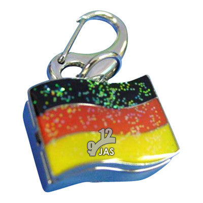 novelty fob watch - german flag