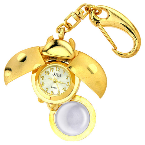 novelty fob watch - lady bug
