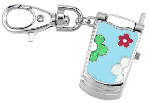 novelty fob watch - flower cell