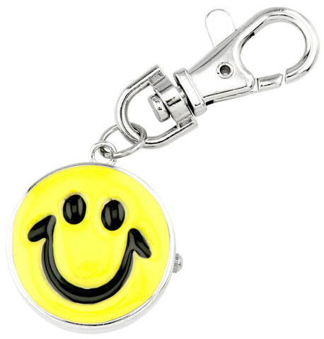 novelty fob watch - smile