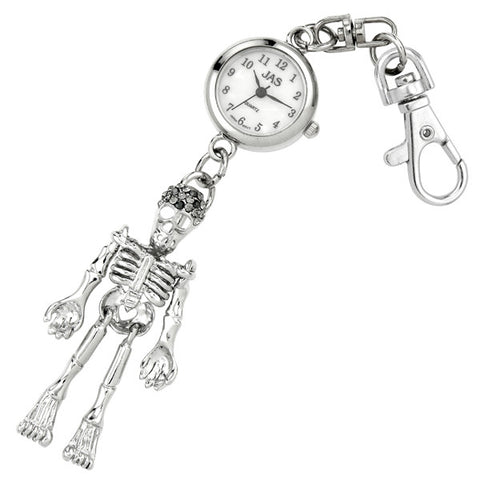 novelty fob watch - skeleton