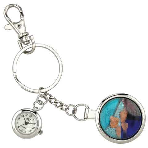 novelty fob watch - mosaic circle