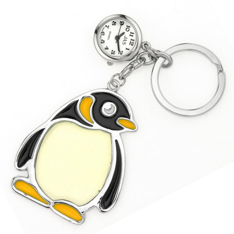 novelty fob watch - penguin