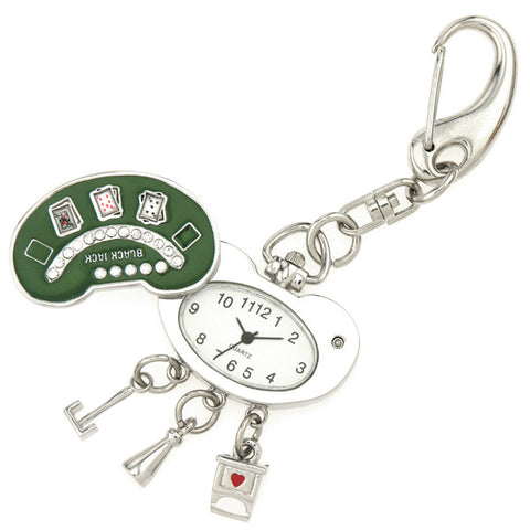 novelty fob watch - blackjack