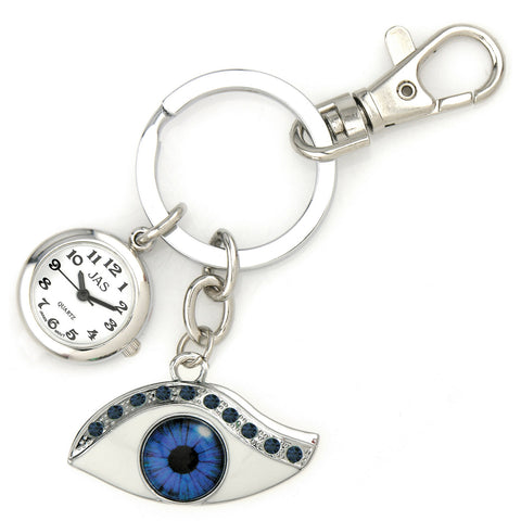 novelty fob watch - blue eye
