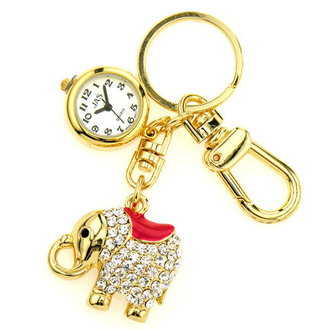 novelty fob watch - elephant