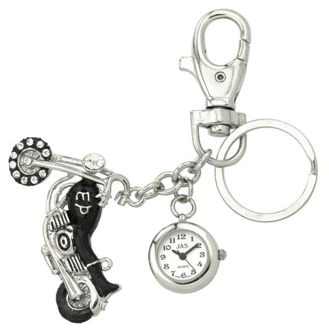 novelty fob watch - motorcycle