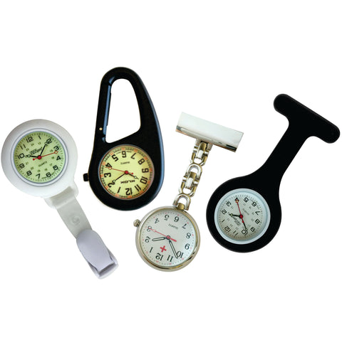 Nurses Lapel Watch (Infection Control) 4 Pack - Clinical Collection