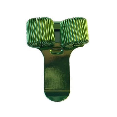 Pen Holder - Double - Green