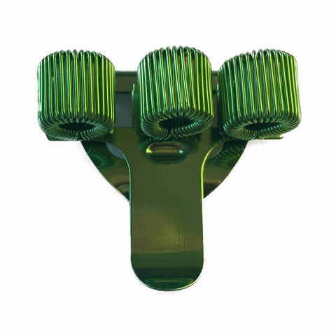 Pen Holder - Triple - Green