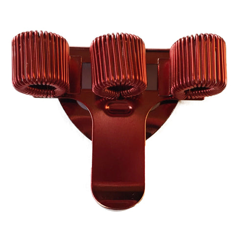 Pen Holder - Triple - Red