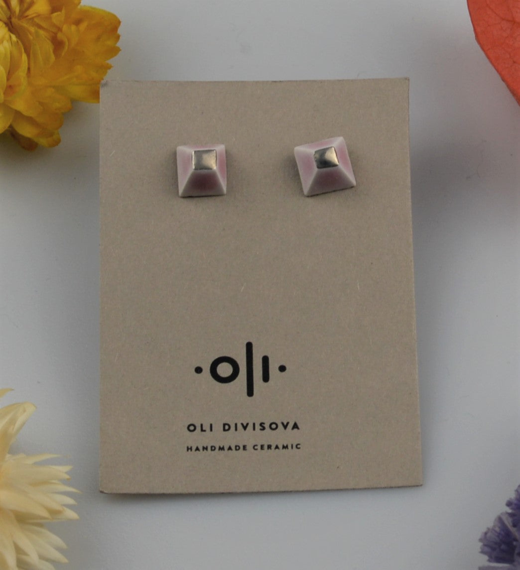 Ceramic earrings OLI