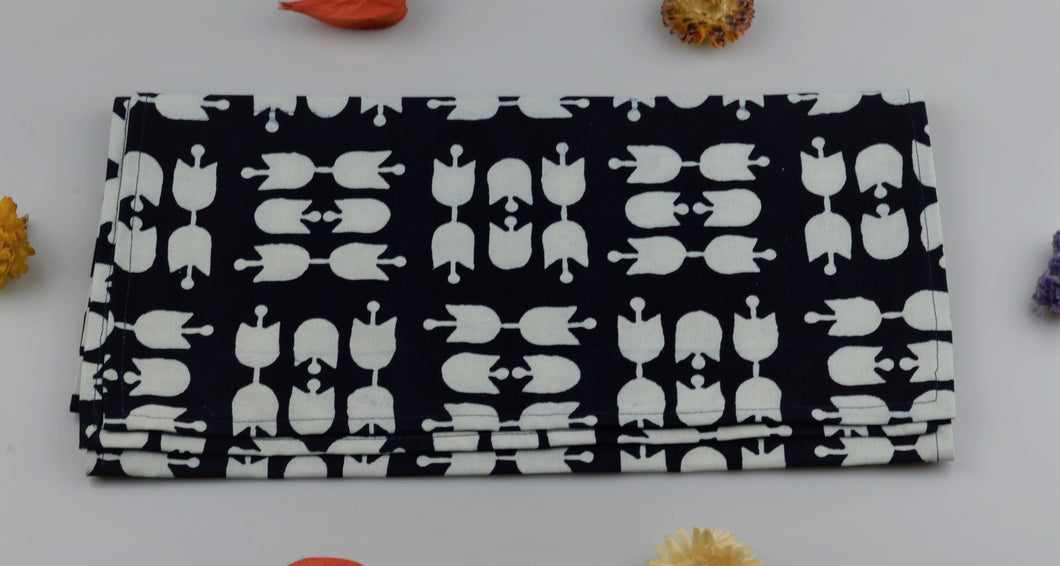 Table runner from modrotisk - 120x30cm