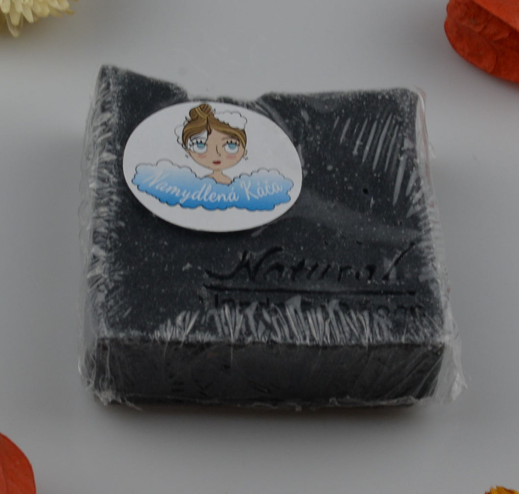 Natural soap - carbon - 100g