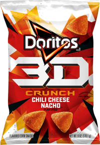 Doritos 3D Chili Cheese nacho .5 oz