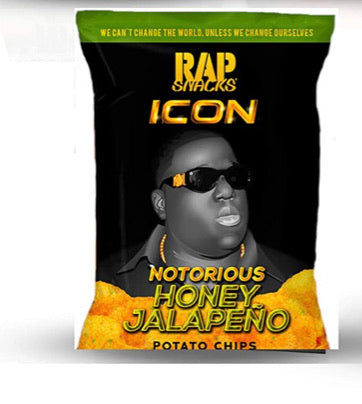Rap Snacks- Notorious B.I.G Honey Jalapeño