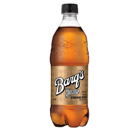 Barq's French Vanilla Cream Soda