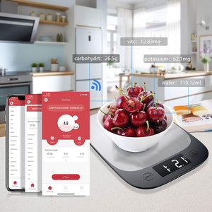 Laden Sie das Bild in den Galerie-Viewer, Sinocare Sinocare Food Scale Digital App