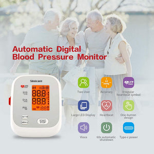 Load image into Gallery viewer, Sinocare Blood Pressure Monitor Upper Arm AES-U131