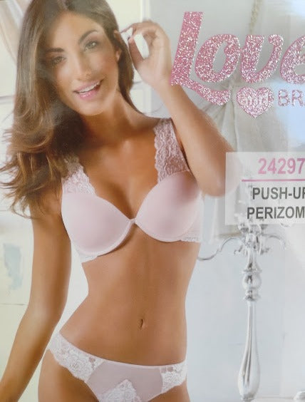 Coordinato Reggiseno + Perizoma - Love and Bra -24297
