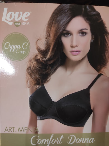 Reggiseno sfoderato con ferretto - Love and Bra - Menta