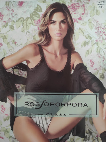 Coordinato top + brasiliana - Rossoporpora - CD732