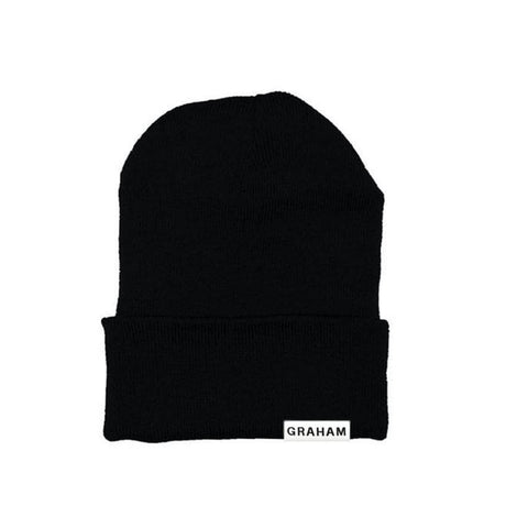 Black Beanie from Clothes By Graham